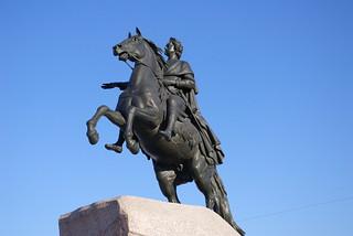 Mednyi Vsadnik. The Bronze Horsemen.