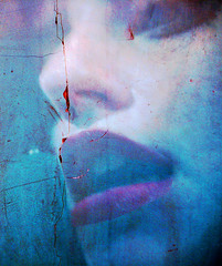 Cease to Begin (Michelle Brea) Tags: blue red selfportrait art texture me photography moments dominican photographer artistic dominicanrepublic dr manipulation dominicana fotografia capture tones feelings 2b artista santodomingo 2008yip hourofthesoul michellebrea photodistorzija4