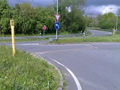 Ausfahrt Esso-Tankstelle A 648 Frankfurt am Main