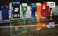 Not on-Line (The Big Jiggety) Tags: street city usa rain america puddle louisiana flood pavement neworleans asphalt crescentcity inondation thebigeasy