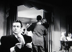 Raymond Burr in Anthony Mann's Raw Deal (1948), film noir's greatest villian (stevesobczuk) Tags: look out for cherries flaming raymondburr anthonymann johnalton