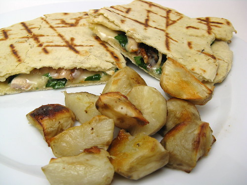 Grilled Flat Bread Sandwich