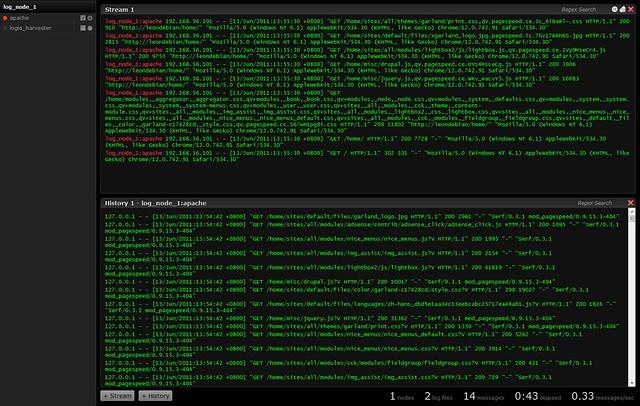 Log.io: 浏览器里的tail -f