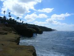 Sunset Cliffs (two Moon sky) Tags: sandiego pacificocean sunsetcliffs