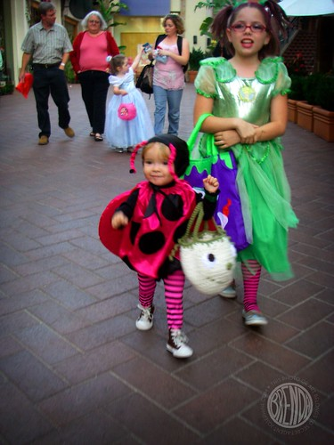 the trick-or-treat parade