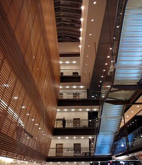 Soloist (@ThetaState) Tags: toronto canada glass stairs panasonic lobby escaleras tz1 fourseasonscenterfortheperformingarts