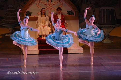 Ballet & Dance Portraits in Columbus, Ohio Nutcracker Suite - Marzipan Trio - Ballet Dancers