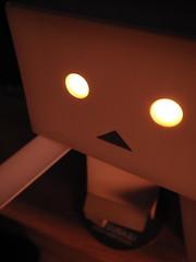 ダンボー、暗闇を見つめる (by Yuma Sugawara)