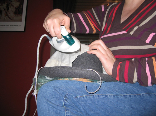 Ironing to reshape
