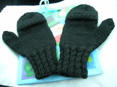 flip top mittens for Boss Lady