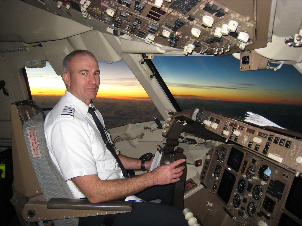 Captain Brad R. from SDQ to Boston