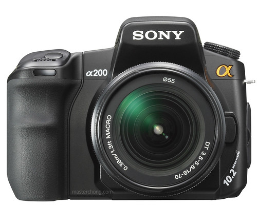 Sony Alpha A200 (dslr a200)