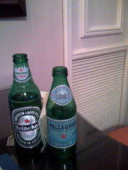 My beverages at Bloghaus