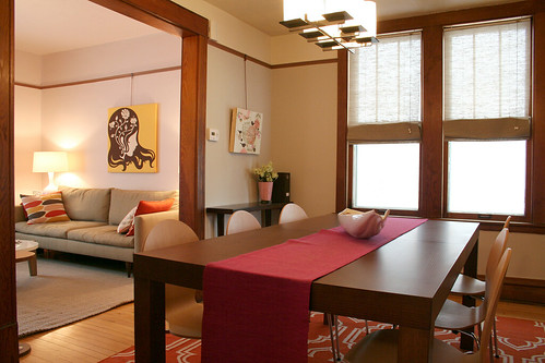 The Dining Room and Living Room