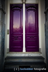 P080218A-103 ([ o ] luclodder photography) Tags: door rotterdam purple nederland nl deur paars zuidholland fkp p080218a103