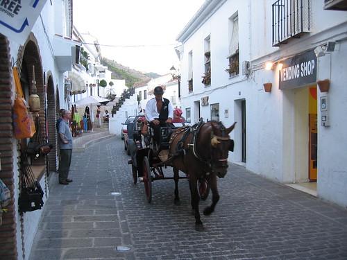 Conozca la ciudad de Mijas