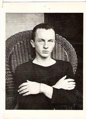 Frank O'Hara postcard [scan]