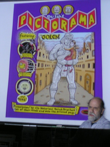 "Kim Deitch presents ""Deitch's Pictorama,"" Fantagraphics Bookstore & Gallery, 03/08/08"