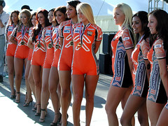 Who's Next? (last_clifford) Tags: girls sexy legs models spandex gridgirls indygirls