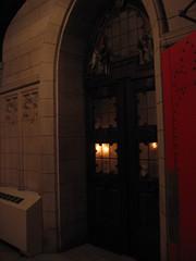 vigil in the baptistry (MBK (Marjie)) Tags: stlouis missouri mbk firstdayofspring maundythursday