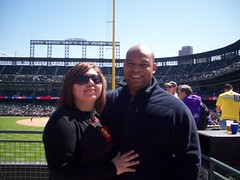 me, jesse, and the foul pole at coors field