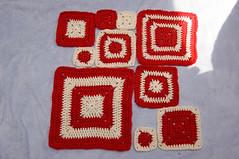 flag (callie callie jump jump) Tags: flag crochet grannysquare babette