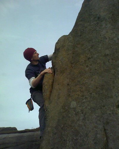 Bouldering - Burbage South - Phil