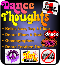 Dance Thoughts T-shirts, Gifts, and More!