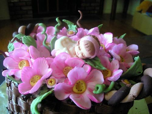 Rose's babyshower cake