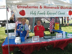 Food Booth Strawberry Shortcake