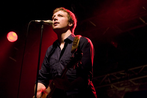 Bell X1 lead vocalist, Paul Noonan at the UCD Ball | Flickr ...