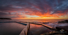 South Curl Curl {Explored] (Bobby Krstanoski - Photography) Tags: australia beach canon canon5dmarkiii canonef1635f28 curlcurl curlcurlrockpool eastcoastaustralia nsw northernbeaches ocean outdoor places pool rocks seascapes summer sunrise sydney winter