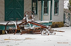 IMG_0817~Winter (Cyberlens 40D) Tags: nj canon machinery storage housing seasons winter snow cold windy doors windows old rusty rust platinumheartawards