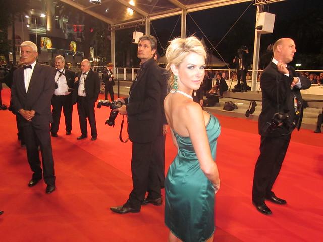 "Jennifer Lexon, ""DRIVE"" Red Carpet, 64th Annual Cannes Film Festival"
