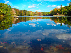 Mousam Pond (SIngraham) Tags: travel autumn color fall nature leaves landscape bravo maine scenic fallfoliage explore naturesfinest blueribbonwinner supershot flickrsbest abigfave diamondclassphotographer flickrelite goldstaraward sonyh9gallery