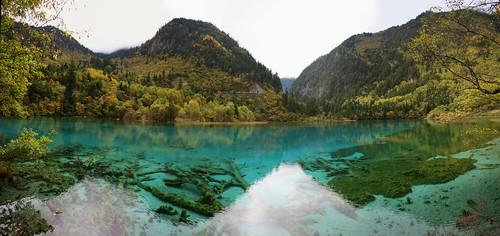 Jiuzhaigou panorama 1