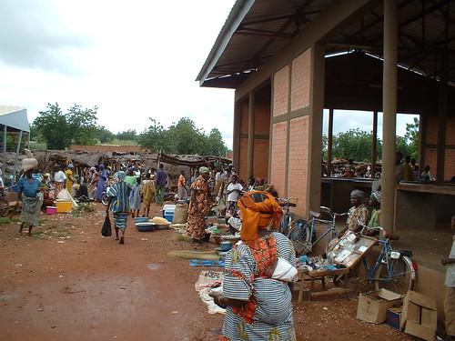 Marché Burkina