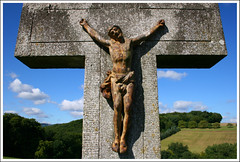 INRI (Jan Ronald Crans) Tags: germany cross jesus crucifix inri duitsland kruis rheinsteig lykershausen