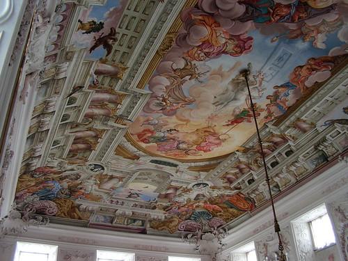 Фрески в Kaisersaal