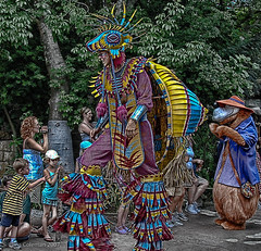 Disney Animal Kingdom Parade (who dresses this guy?) (iceman9294) Tags: disney animalkingdom chriscoleman diamondclassphotographer flickrdiamond iceman9294