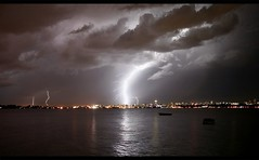 Another big lightning around Maputo - Mozambique (kryyslee) Tags: world pictures voyage africa trip travel sea mer color colors clouds canon southafrica photography eos photo big foto image photos pics couleurs picture images du traveller adventure round around lightning christophe monde nuages backpacker amateur pict nuit autour couleur eclair mozambique gros maputo 2007 afrique worldtrip globetrotter aventure lightnings afriquedusud 50d aroundtheworldtrip travelaroundtheworld 400d 20072008 kryyslee christophepaquignon paquignon voyageautourdumonde
