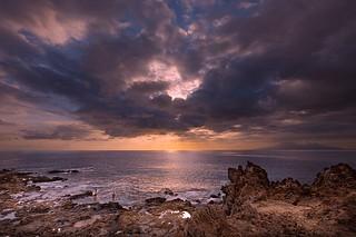 Canary Atlantic Sunsets ( XVI )