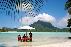 tahiti is great for  vocation and tours, many vocatin packages are available from tour providers