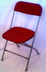 Folding Chair-Burgundy