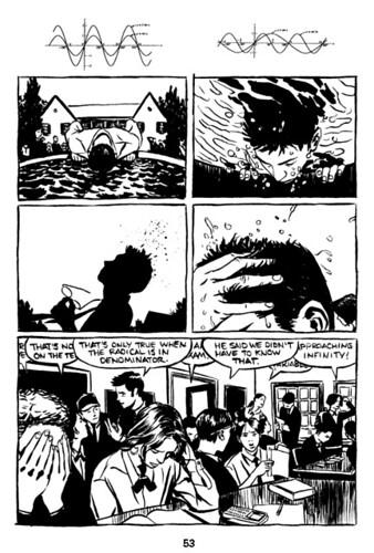 R Kikuo Johnson, NIGHT FISHER, page 53