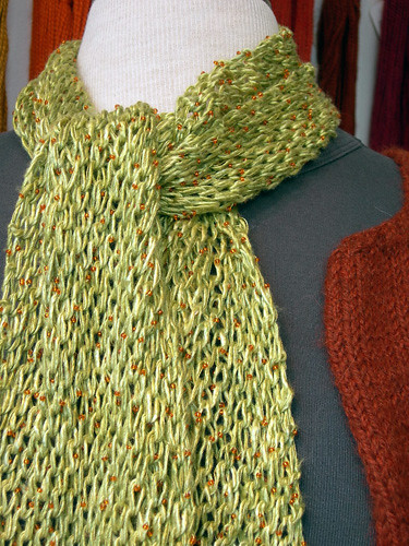 Salt + Pepper Yarn Scarf
