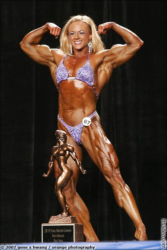 IFBB Pro Kristy Hawkins Wins 2007 NPC Nationals In Dallas!