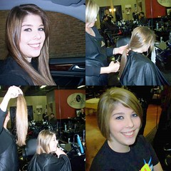 Brittany Donates to Locks of Love (Robert Lz) Tags: brittanydonatestolocksoflove