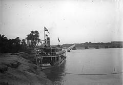 Egypte le Nil au Caire 04 (HCLM) Tags: old vintage xx egyptian 1910 nil bateau navigation egypte caire chusseau