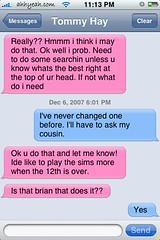 Matte SMS Bubbles